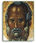Прижизненный образ святителя Николая (фрагмент)