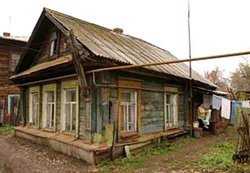 The house in Samara where the miracle happened to Zoya.